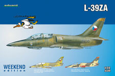 AERO L 39 ZA ALBATROS (ALGERIAN AND CZECHOSLOVAK AF MARKINGS)#7427 1/72 EDUARD