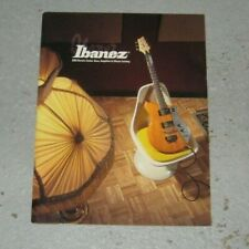 IBANEZ Guitar Bass Amplifier Effects Catalog Brochure Magazine RARE Vintage 2003