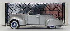 Durham Classics 1/43 Scale DCJ05 - 1938 Lincoln Zephyr Convertible - Silver