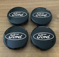 4 Ford Emblems Hub Caps Rim Cover Fiesta Kuga Mondeo Original