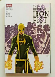 MARVEL COMICS 2013 IMMORTAL IRON FIST COMPLETE COLLECTION SCTPB #1 MASSIVE BOOK!