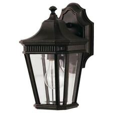 Feiss Ol5400Gbz Cotswold Lane Outdoor Patio Lighting Wall Lantern, Bronze, 1-L.