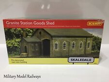 Hornby Skaledale R9841 OO Gauge Building Granite Station Goods Shed