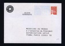 Timbres français neufs d'après 2001 enveloppes