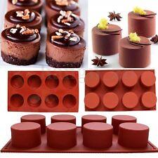 Silicone Moule à Gâteau Rond Pâtisserie Chocolat Bonbon Biscuit Savon Cuisine