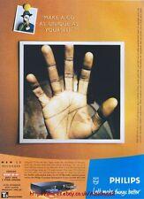 Philips CD Recorder 1999 Magazine Advert #2653