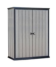 Keter High Store Outdoor Storage Shed Plastic Garden Storage 10 Year Warranty!!