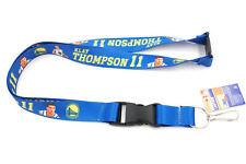 Klay Thompson Golden State Warriors NBA Basketball Player Action Lanyard