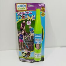 Stand Up and Draw Chalk Green Lucky Line  Walkie Chalk