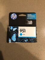 GENUINE HP 951 Cyan Ink Cartridge CN050AN NEW IN BOX