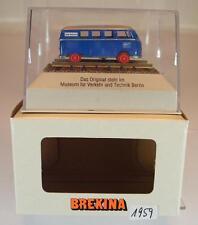 Brekina 1/87 63033 VW T1 Bus Schienendraisine Klv 20 Wolf Walsrode MVT OVP #1959