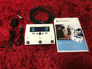 Tc-Helicon Voice Live Play Gtx Effector for guitar vocals Used From Japan F/S