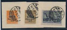 Briefmarken aus dem deutschen Reich (1919-1923) mit BPP-Signatur als Satz