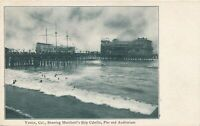 VENICE CA - Marchetti's Ship Cabrillo, Pier and Auditorium - udb (pre 1908)
