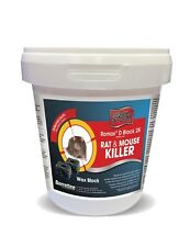 Knockout Rat and Mouse Killer Bait Block Rodenticide