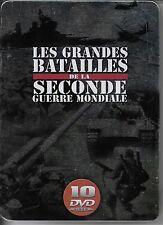 COFFRET 10 DVD--DOCUMENTAIRE--GRANDES BATAILLES DE LA 2eme GUERRE MONDIALE