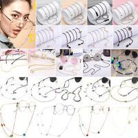 Boho Metal Beads Eye Glasses Chain Strap for Spectacle Eyeglasses Sunglasses