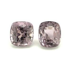 1.82tcw Lavender Spinels Cushion VVS from Burma, Natural Gemstone *Video*