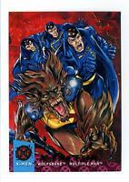 Fleer 1994 X-Men Ultra #120 X-Overs X-Factor Part 3 Card Wolfsbane Multiple Man