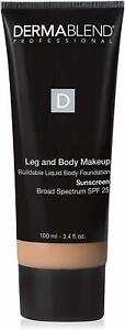 Leg and Body Makeup by DERMABLEND, 3.4 oz 20N Light Natural