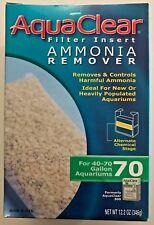 AquaClear 70 (300) Aquarium Filter 40 - 70 gallon Ammonia Remover A-616 A616