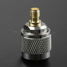 1X SMA Female Jack to UHF PL259 Male SO239 Plug Adapter Connector straight Type