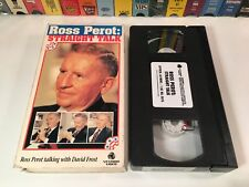 Ross Perot: Straight Talk Political History VHS 1992 Interview w/ Robert Frost