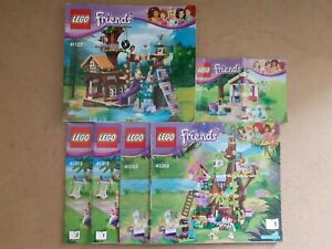 "Lego Friends Instruction Manuals.. ""NO BRICKS """