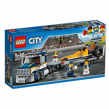 60151 LEGO City Great Vehicles Dragster Transporter 333 Pieces Age 5-12 New 2017