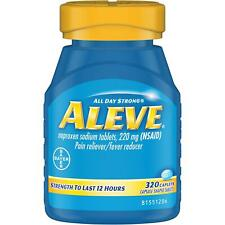 Aleve Naproxen Sodium Tablets (320 ct.) - Pain Reliever / Fever Reducer
