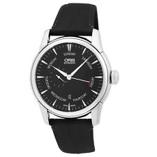 Oris Artelier 44mm Pointer Date Men's Automatic Swiss Made Watch 745-7666-4054LS