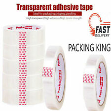 More details for 6 x rolls clear packing tape sellotape cellotape 24mm x 66m