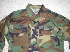 NEW MILITARY BDU FIELD SHIRT. CAMO US ARMY. MEN`S MEDIUM REGULAR. NEW!!!!