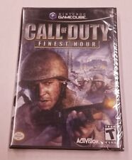 Call of Duty: Finest Hour, Nintendo Gamecube, Factory Sealed, See Pics,Free Ship