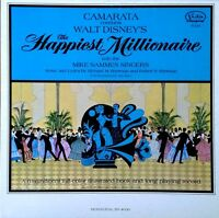 CAMARATA - CONDUCTS WALT DISNEY'S HAPPIEST MILLIONAIRE - BUENA VISTA LP