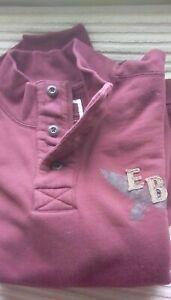 Men Eddie Bauer Heritage Wash long sleeve pullover sweatshirt ~ Size XL