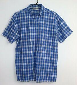 """Men's Shirt """"FABIANI"""" Exclusive, 100% Cotton, Check Size L"""