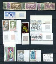 Andorra - French Outstanding selection of 18 MNH/MH Stamps - See Scan