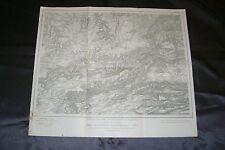 Ober Elsaß Karte Nr.668 Pfirt Lüxdorf Winkel Ottendorf / Frankreich Jura 1917