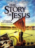 The Story Of Jesus A Revolutionary NEW 3 DVD Drama Documentary David Suchet