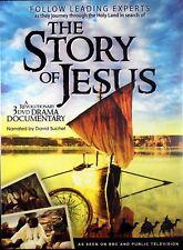 The Story Of Jesus A Revolutionary NEW 3 DVD Drama Documentary David Suchet