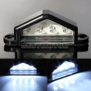 12V LED LICENSE NUMBER PLATE LIGHT TAIL REAR LAMP TRUCK TRAILER LORRY VAN CAR
