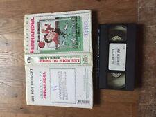 CASSETTE VIDEO VHS CINEMA LES ROIS DU SPORT raimu fernandel scherzo