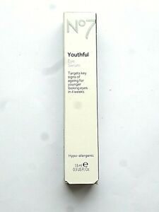 No7 Youthful Eye Serum Hypo-Allergenic - 15ml
