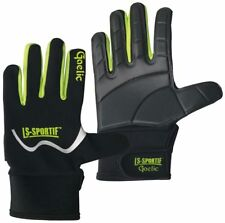 Ls-Sportif Famous Gaelic Football Gloves Black Lime White
