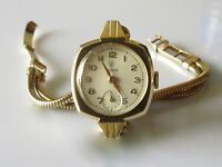 Vintage Tudor Rolex 9ct yellow gold 1951 ladies manual winding watch bracelet