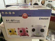 iPIG Bluetooth Speaker by Amethyst /White/ iPhone/Android NEW IN BOX!!