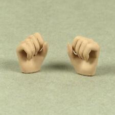 1/6 Scale Phicen, TBLeague Female Fist Gestured Hands (Pale Suntan Color)