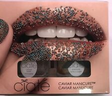 Ciate London Caviar Manicure Set Head Turner Bronze and Turquoise New In Box