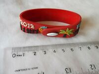 KOH PHANGAN FULL MOON PARTY RUBBER ENTRY BRACELET 2012 HAT RIN THAILAND HEDONISM